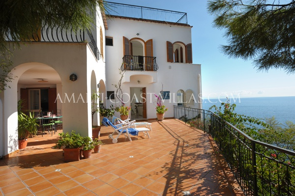 Villa for rent Amalfi Coast