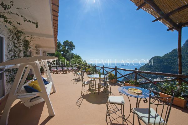 Holiday villa for rent in Positano, Amalfi Coast rentals