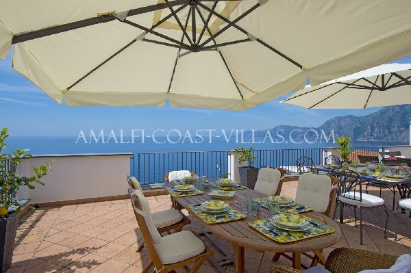 Villa Dolce Vita holiday rental in Praiano, Italy