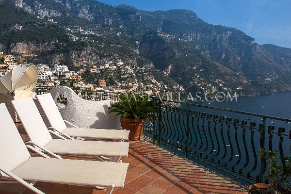 Positano self catering villa for rent - Amalfi Coast rentals