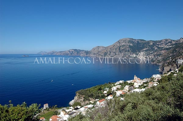 Amalfi coast rentals, villas for rent